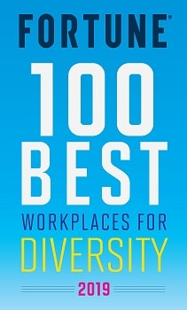 Fortune 100 Best Workplaces for Diversity 2019