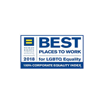 Best places to work for LGBTQ equality 2018 award