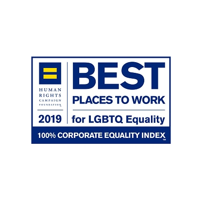 Best places to work for LGBTQ equality - 2019 award
