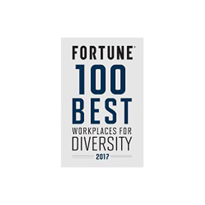 Fortune 100 Best Workplaces for Diversity 2017 award