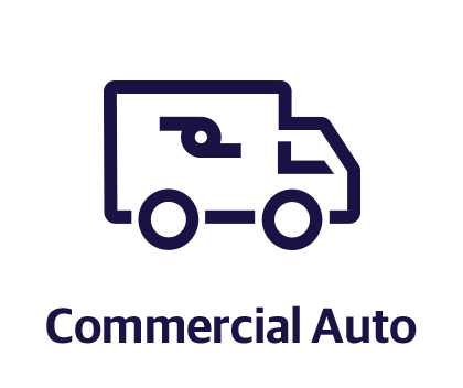 Illustration of a commercial truck - Commercial auto coverage